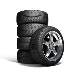 Inflated Tires