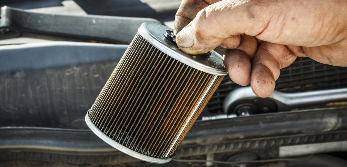 Fuel Filter of A Car