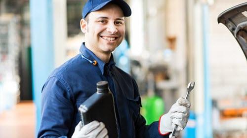 Expert Mechanic Repairing Mercedes