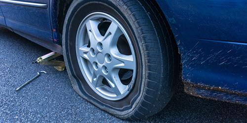 Flat Car Tire